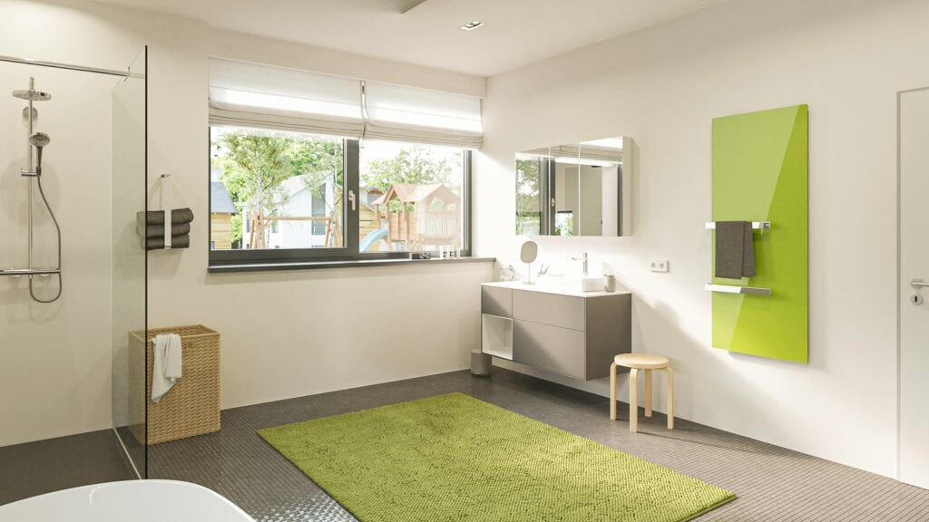 Welltherm badkamer verwarming spiegel infrarood paneel infrarood verwarming handdoekdroger 15